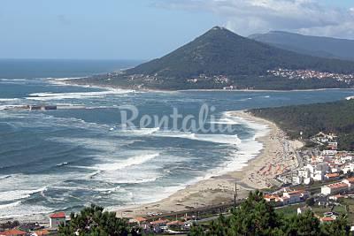 Moledo beach