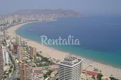 Playa poniente la cala en benidorm alicante apartamentos y casas de vacaciones - Apartamentos en benidorm playa poniente ...