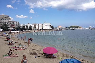 Santa Eularia beach