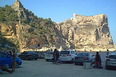 Strand Cala del Moraig