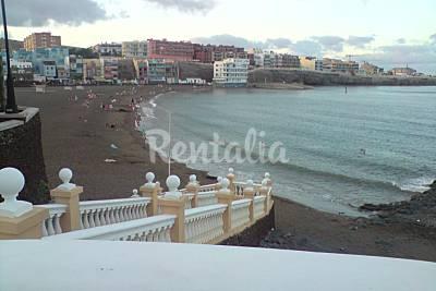 Playa melenara en telde gran canaria apartamentos y for Cocina urbana canaria