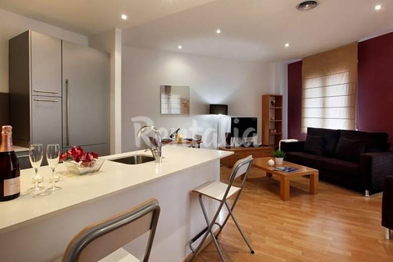Apartamento en alquiler en barcelona centro barcelona - Alquiler de apartamentos por dias en barcelona ...