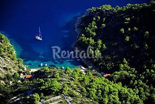 Casa per 4-6 persone a 100 m dalla spiaggia Spalatino-Dalmata