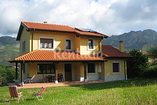 Villa for rent 11 km from the beach Asturias