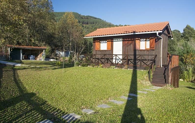 Alojamento de Bungalow em madeira - Ponte de Lima Viana do Castelo - Exterior da casa