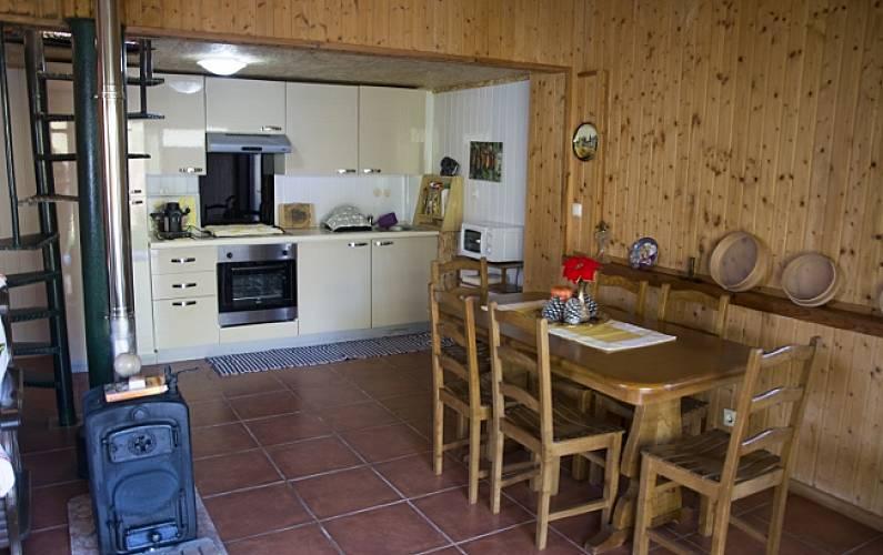 Alojamento Cozinha Viana do Castelo Ponte de Lima Casa rural - Cozinha