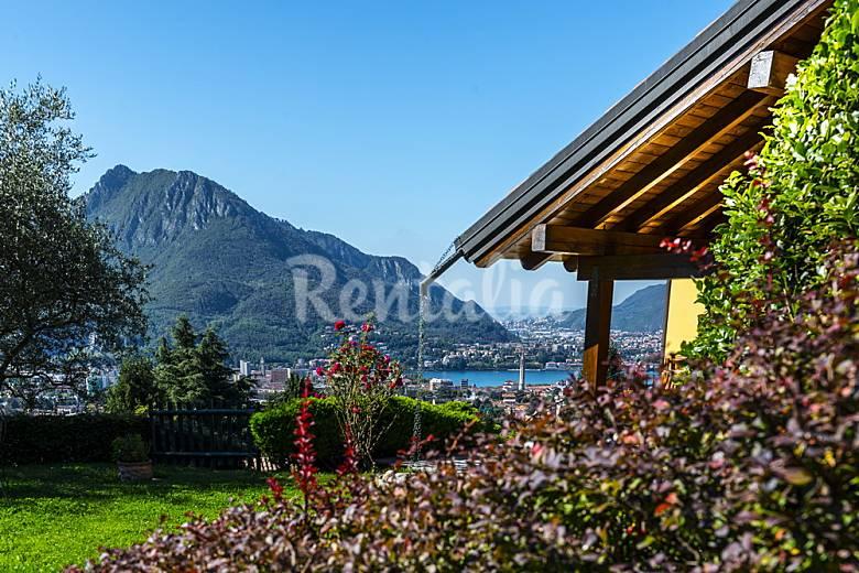 villa for 6 9 people piani di bobbio valtorta lecco