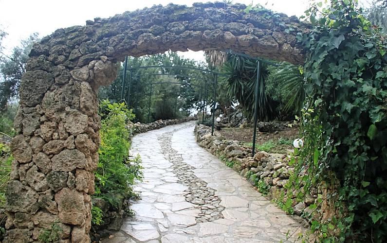Casas Jardín Cádiz El Gastor Casa en entorno rural - Jardín