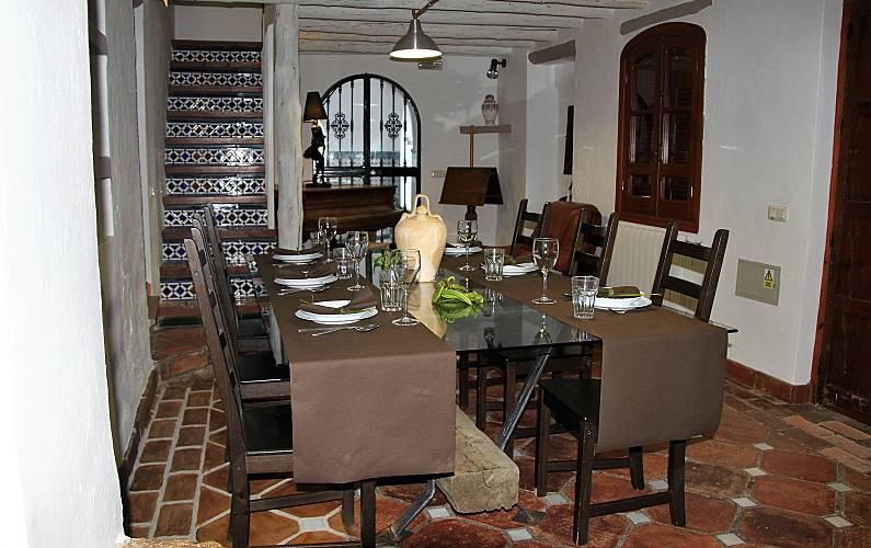 Casas Comedor Cádiz El Gastor Casa en entorno rural - Comedor