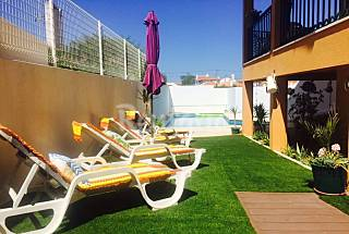 Villa with 3 bedrooms only 1000 meters from the beach Lisbon
