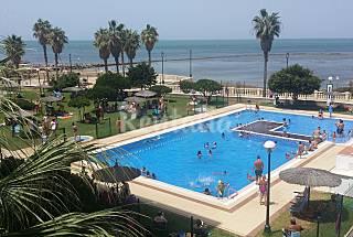 Apartamento para 2-3 personas en 1a línea de playa Cádiz