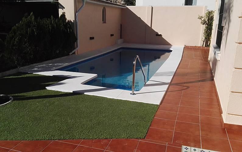 Magnifica Piscina Malaga Torremolinos villa - Piscina