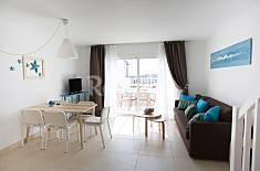 Appartement met 2 slaapkamers op 600 meter van het strand Lanzarote