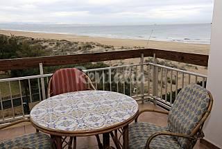 Apartamento para 6 personas en 1a línea de playa Valencia
