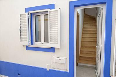 Casa com 1 quarto em frente à praia Leiria