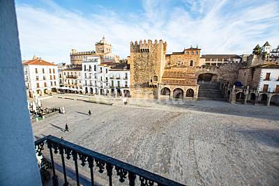 Apartamento de 3 habitaciones en Cáceres centro Cáceres