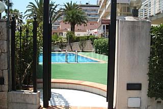 Apartamento de 1 habitación en 1a línea de playa Castellón