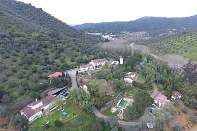 Casas en alquiler con piscina Huelva