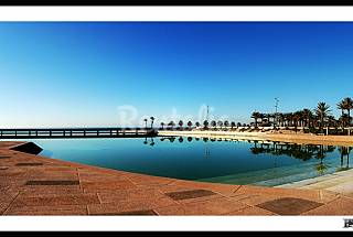 Casa de 4 habitaciones a 2 km de la playa Almería