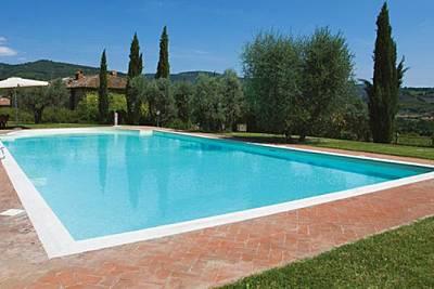 Appartamento in storico casale  con piscina  Arezzo