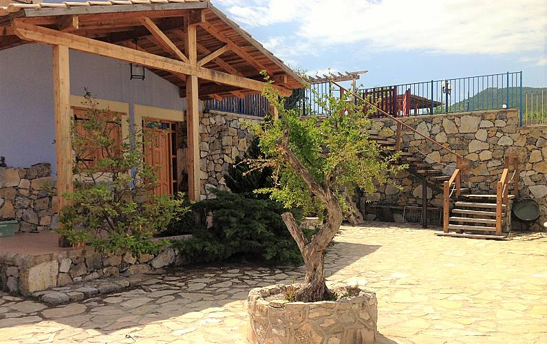Casa rural en Moratalla. Mistral Murcia - Exterior del aloj.