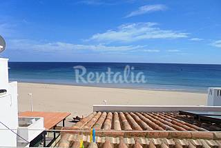House for 6 people on the beach front line Algarve-Faro