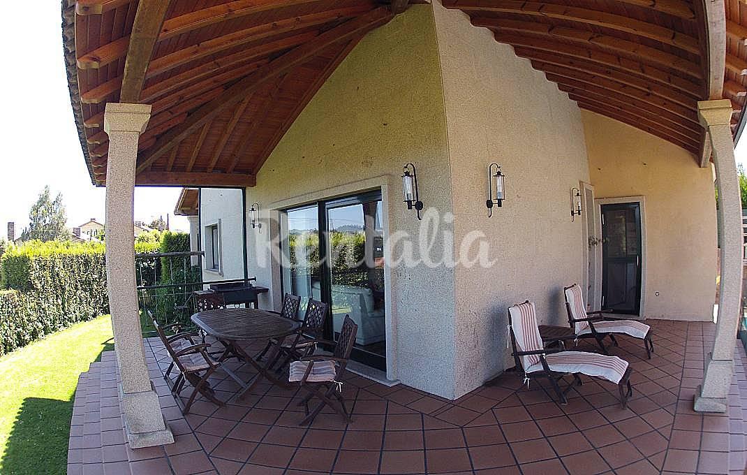 Preciosa casa con vistas piscina y a 5 minutos - Piscina santiago de compostela ...