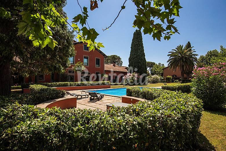 Villa con giardino e piscina 20 39 da san pietro roma roma - Villa con piscina roma ...