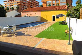 House with 8 bedrooms on the beach front line Valencia