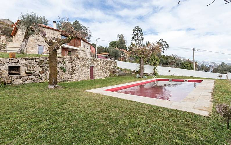 Villa Viana do Castelo Ponte de Lima Villa en entorno rural -