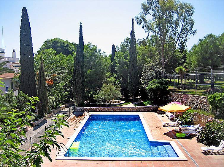 Casa en alquiler con piscina cunit tarragona costa dorada - Camping con piscina climatizada en tarragona ...