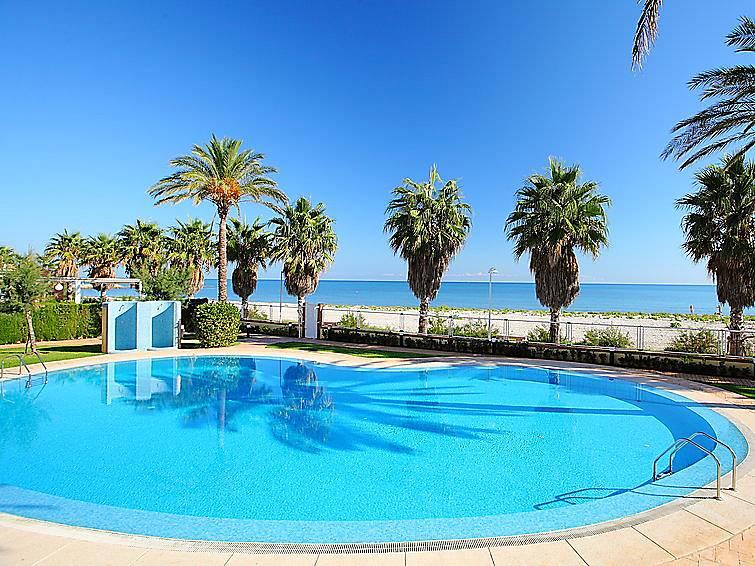 Apartamento en alquiler en 1a l nea de playa el verger alicante marina alta - Apartamentos alicante alquiler ...