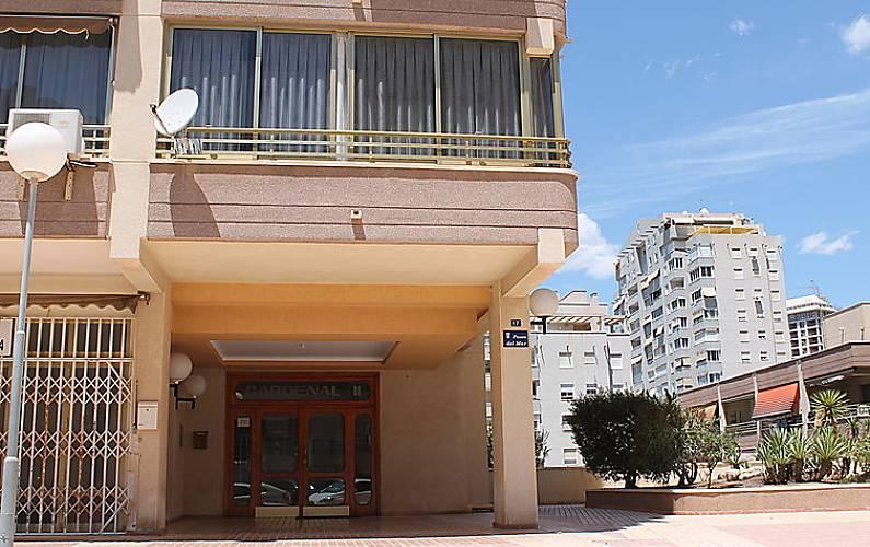 Apartamento en alquiler a 200 m de la playa benidorm alicante costa blanca - Apartamentos de alquiler en benidorm baratos ...