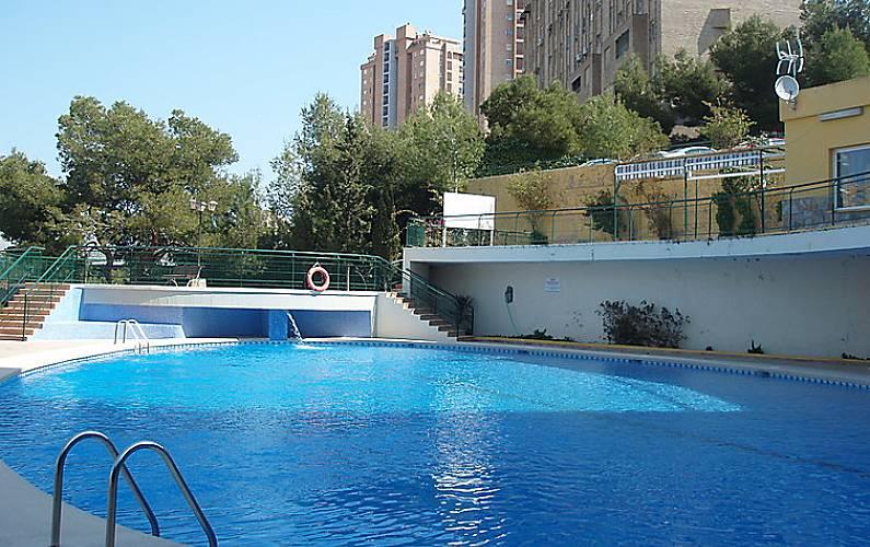 Apartamento en alquiler a 400 m de la playa benidorm alicante costa blanca - Apartamentos en benidorm playa poniente ...