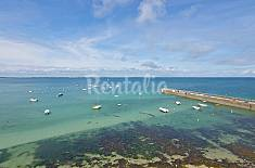 Apartment for rent on the beach front line Morbihan