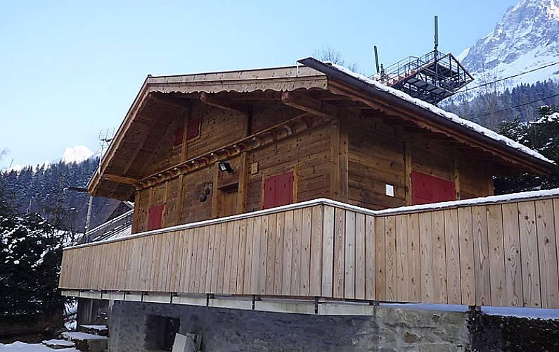 Villa in affitto a les houches chamonix mont blanc alta for Piani di casa francese in tudor