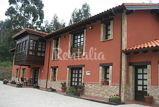 Totally equipped house 2.5 km from the beach Asturias