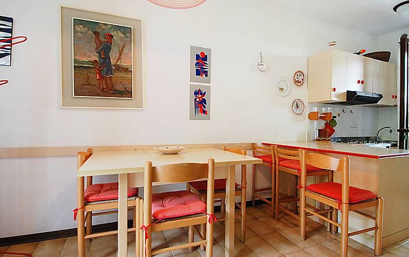 Dormitorio Udine ~ Apartamento para 7 personas a 650 m de la playa Lignano Sabbiadoro (Udine) Alpes italianos