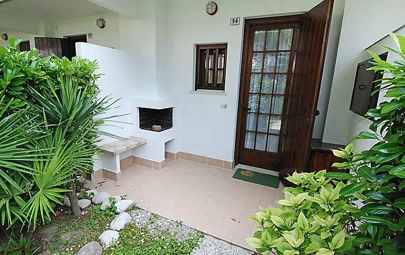 Dormitorio Udine ~ Apartamento para 6 personas a 650 m de la playa Lignano Sabbiadoro (Udine) Alpes italianos