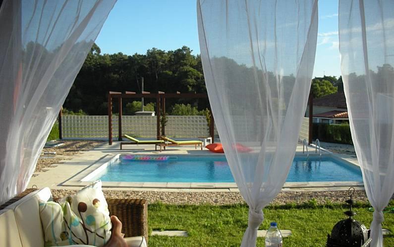 Villa na Praia do Meco em Lisboa Setúbal - Vistas da casa