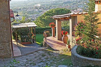 Casa in affitto con piscina Firenze