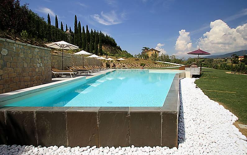 Apartamento en alquiler con piscina fornaci incisa reggello florencia - Piscina figline valdarno ...