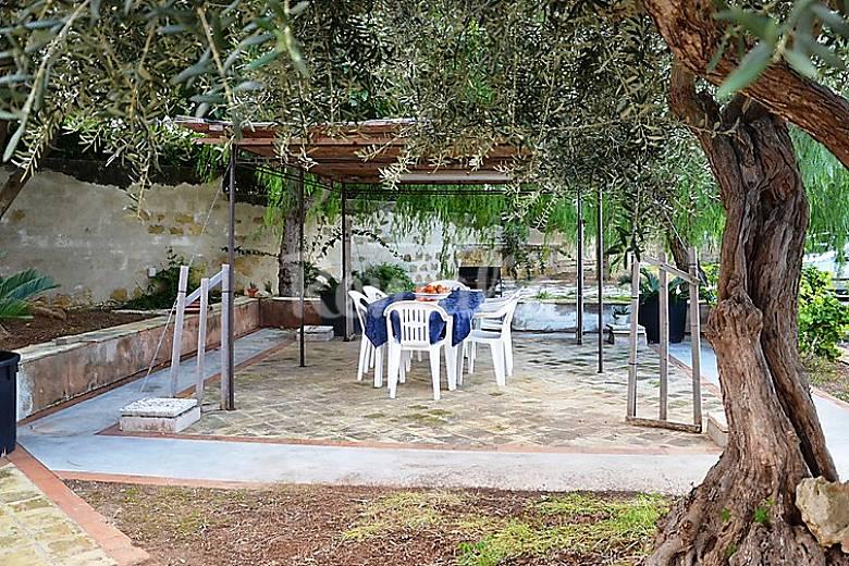 Villa in affitto a 2 km dalla spiaggia ponte marsala for Piani ponte veranda