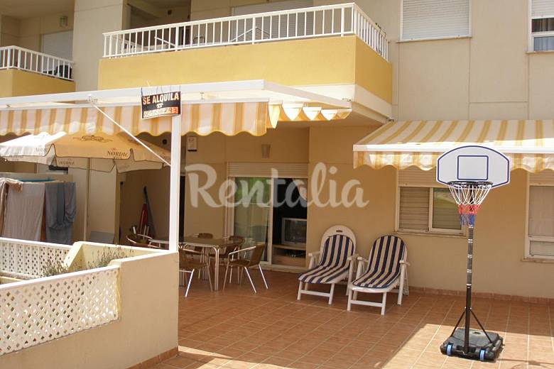 Apartamento en alquiler con terraza de 70 metros playa de canet canet d 39 en berenguer valencia - Venta de apartamentos en canet de berenguer ...