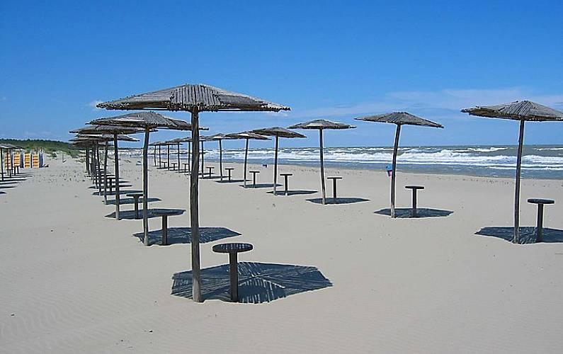 Casa per 6 persone a 150 m dalla spiaggia casal borsetti for Piani casa sul tetto di bassa altezza