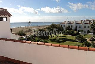 Chalet en alquiler en 1a línea de playa Málaga