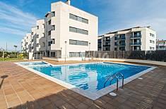 Costabravaforrent Balcó 2, piscina comunitaria Girona/Gerona