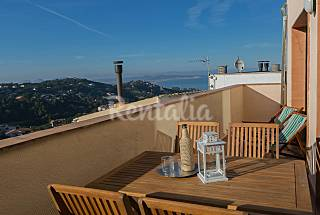 Apartment with sea views in the center of Begur Girona