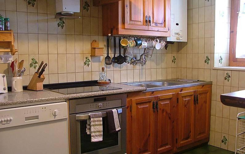 Casa Cocina Lleida/Lérida Naut Aran casa - Cocina