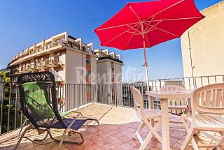 Terrace and 2 Bedrooms. 50 mt from the main street Palermo